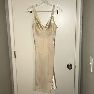 Other - Cream Shapewear Dress, 38 D, Adjustable Straps